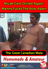 Micah Gets Drilled Again/Manny Fucks The Boss Again - homemade gay porn